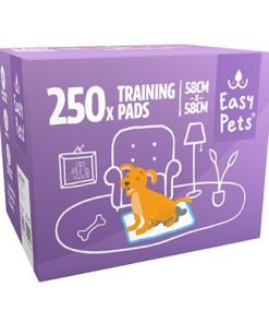 Easypets puppy training pads (58X58 CM 250 ST)