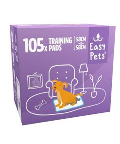 Easypets puppy training pads (58X58 CM 105 ST)